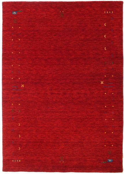 Gabbeh Loom Frame - Rød Tæppe 160X230 Moderne Rød/Mørkerød (Uld, Indien)