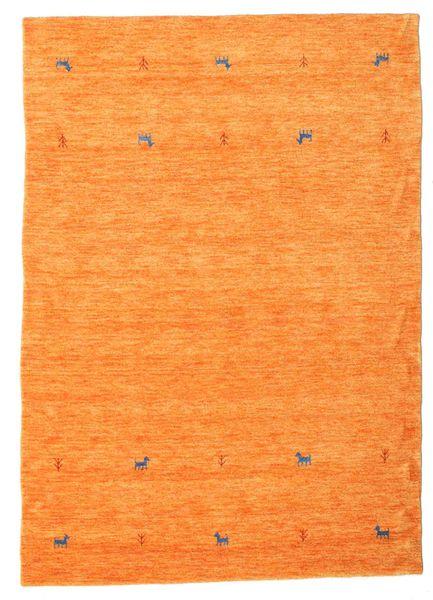 Gabbeh Loom Two Lines - Orange Tæppe 160X230 Moderne Orange (Uld, Indien)