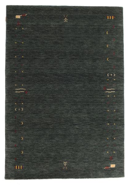 Gabbeh Loom Frame - Mørkegrå/Grøn Tæppe 160X230 Moderne Mørkegrøn (Uld, Indien)