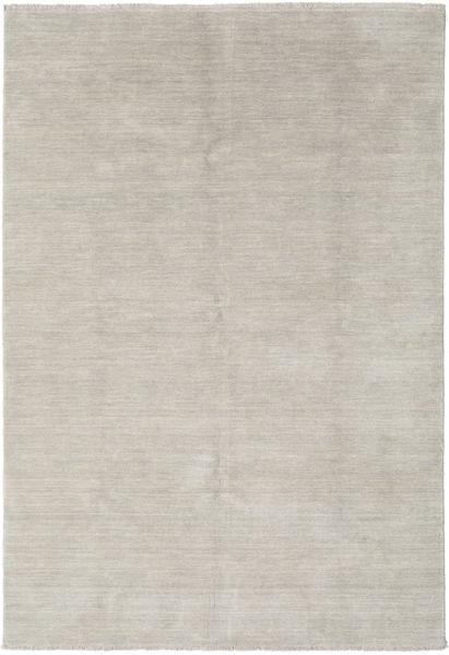 Handloom Fringes - Greige Tæppe 160X230 Moderne Lysegrå (Uld, Indien)