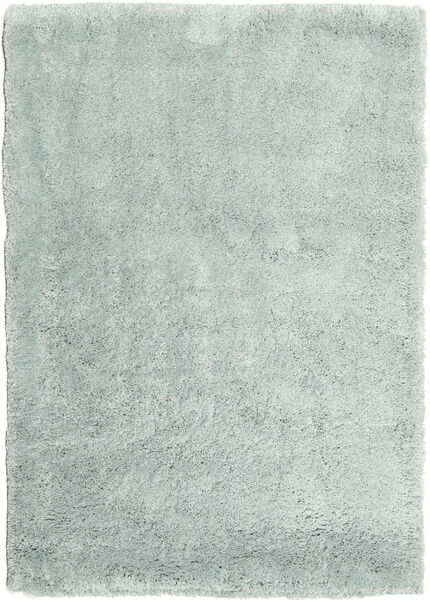 Shaggy Sadeh - Mint Tæppe 160X230 Moderne Lysegrå/Turkis Blå ( Tyrkiet)