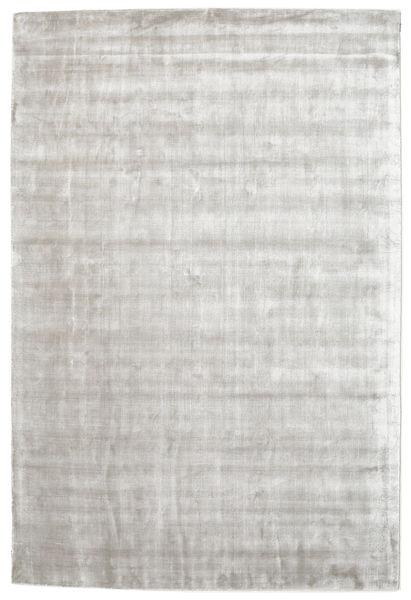 Broadway - Sølv Hvid Tæppe 250X350 Moderne Lysegrå/Hvid/Creme Stort ( Indien)