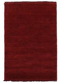 Handloom Fringes - Mørkerød Tæppe 160X230 Moderne Rød (Uld, Indien)