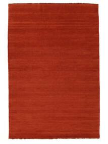 Handloom Fringes - Rust/Rød Tæppe 160X230 Moderne Rust/Orange (Uld, Indien)