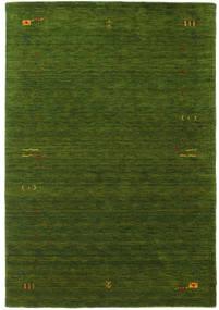 Gabbeh Loom Frame - Grøn Tæppe 160X230 Moderne Mørkegrøn (Uld, Indien)