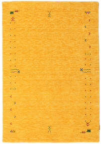 Gabbeh Loom Frame - Gul Tæppe 140X200 Moderne Orange (Uld, Indien)