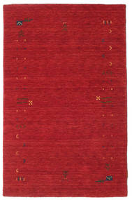 Gabbeh Loom Frame - Rust Rød Tæppe 100X160 Moderne Rød (Uld, Indien)