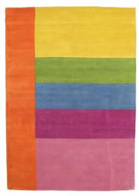 Colors By Meja Handtufted Tæppe 160X230 Moderne Orange/Lyserød (Uld, Indien)