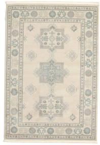 Kazak Lafayette - Cream Tæppe 160X230 Orientalsk Lysegrå/Beige ( Tyrkiet)