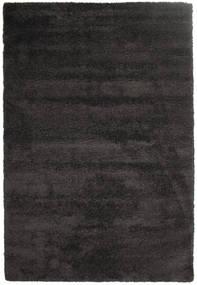 Shaggy Sadeh - Sort/Grå Tæppe 200X300 Moderne Sort/Mørkegrå ( Tyrkiet)