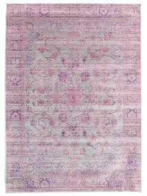Maharani - Grå/Rosa Tæppe 200X300 Moderne Lyserød/Lysegrå ( Tyrkiet)