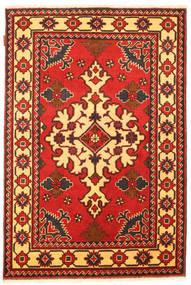 Kazak Tæppe 102X157 Ægte Orientalsk Håndknyttet Rust/Mørkebrun (Uld, Pakistan)