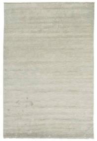 Handloom Fringes - Grå/Lysegrøn Tæppe 200X300 Moderne Lysegrå/Lysebrun (Uld, Indien)