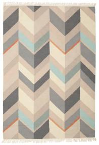 Kasimir Tæppe 160X230 Ægte Moderne Håndvævet Lysegrå/Beige (Uld, Indien)