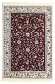 Nain Florentine - Mørk Rød Tæppe 200X300 Orientalsk Beige/Lysegrå/Mørkebrun ( Tyrkiet)