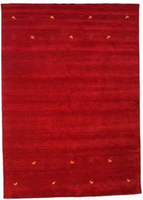 Gabbeh Loom Two Lines - Rød Tæppe 240X340 Moderne Rød/Mørkerød (Uld, Indien)