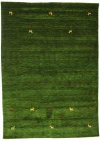 Gabbeh Loom Two Lines - Grøn Tæppe 160X230 Moderne Mørkegrøn (Uld, Indien)