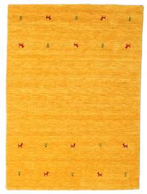 Gabbeh Loom Two Lines - Gul Tæppe 140X200 Moderne Orange (Uld, Indien)