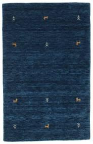 Gabbeh Loom Two Lines - Mørkeblå Tæppe 100X160 Moderne Mørkeblå (Uld, Indien)