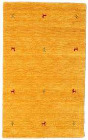 Gabbeh Loom Two Lines - Gul Tæppe 100X160 Moderne Orange (Uld, Indien)
