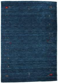 Gabbeh Loom Frame - Mørkeblå Tæppe 140X200 Moderne Mørkeblå (Uld, Indien)