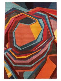 Duet Tæppe 160X230 Moderne Rød/Mørkerød ( Tyrkiet)