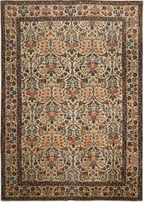 Tabriz Patina Tæppe 238X338 Ægte Orientalsk Håndknyttet Brun/Mørkegrå (Uld, Persien/Iran)