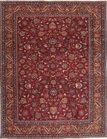 Mashad Patina Tæppe 240X325 Ægte Orientalsk Håndknyttet Mørkerød/Mørkegrå (Uld, Persien/Iran)