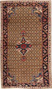 Koliai Patina Tæppe 100X183 Ægte Orientalsk Håndknyttet Mørkebrun/Lysebrun (Uld, Persien/Iran)
