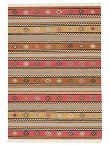 Kelim - Nezzim - Nezzim Tæppe 170X240 Ægte Moderne Håndvævet Lysebrun/Lysegrå ( Indien)