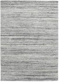 Mazic - Grå Tæppe 140X200 Ægte Moderne Håndknyttet Lysegrå/Turkis Blå (Uld, Indien)