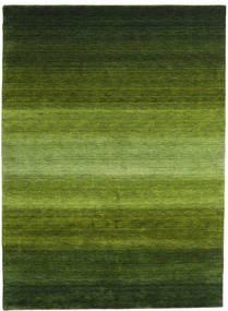 Gabbeh Rainbow - Grøn Tæppe 210X290 Moderne Mørkegrøn/Olivengrøn (Uld, Indien)