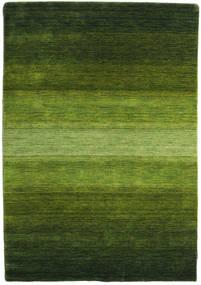 Gabbeh Rainbow - Grøn Tæppe 140X200 Moderne Mørkegrøn/Olivengrøn (Uld, Indien)