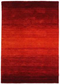 Gabbeh Rainbow - Rød Tæppe 140X200 Moderne Rust/Mørkerød (Uld, Indien)