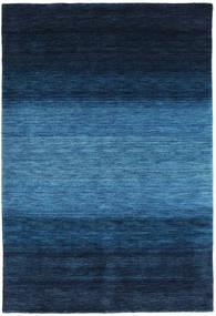 Gabbeh Rainbow - Blå Tæppe 160X230 Moderne Mørkeblå/Blå (Uld, Indien)