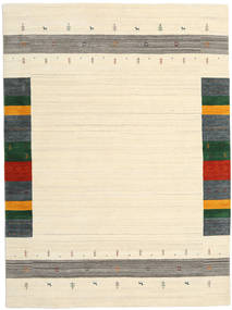 Loribaf Loom Designer - Beige Tæppe 210X290 Moderne Beige/Mørk Beige (Uld, Indien)