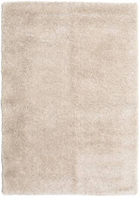 Shaggy Sadeh - Lysebeige Tæppe 160X230 Moderne Lysegrå/Hvid/Creme ( Tyrkiet)