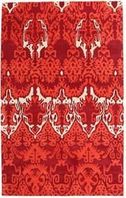 Handtufted Tæppe 153X246 Moderne Rød (Uld, Indien)