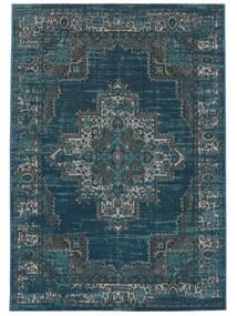 Vintage Vega - Petrol/Turquoise Tæppe 160X230 Moderne Mørkeblå/Blå ( Tyrkiet)