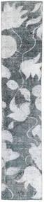 Colored Vintage Tæppe 68X363 Ægte Moderne Håndknyttet Tæppeløber Blå/Hvid/Creme (Uld, Persien/Iran)