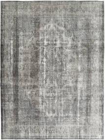 Colored Vintage Tæppe 285X375 Ægte Moderne Håndknyttet Lysegrå/Mørkegrå Stort (Uld, Persien/Iran)