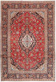 Keshan Patina Tæppe 242X345 Ægte Orientalsk Håndknyttet Mørkerød/Beige (Uld, Persien/Iran)