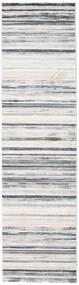 Layered - Grå/Beige Tæppe 80X300 Moderne Tæppeløber Lysegrå/Hvid/Creme ( Tyrkiet)