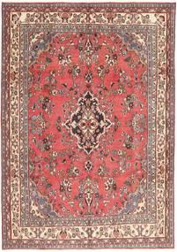 Hamadan Patina Tæppe 203X298 Ægte Orientalsk Håndknyttet Lyserød/Mørkerød (Uld, Persien/Iran)