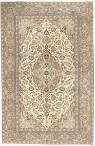 Keshan Patina Tæppe 190X296 Ægte Orientalsk Håndknyttet Lysegrå/Mørk Beige (Uld, Persien/Iran)