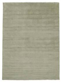 Handloom Fringes - Soft Teal Tæppe 200X300 Moderne Lysgrøn/Mørkegrå (Uld, Indien)