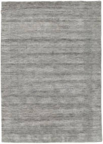 Handloom Gabba - Grå Tæppe 160X230 Moderne Lysegrå/Mørkegrå (Uld, Indien)