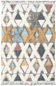 Xavier - Multi Tæppe 160X230 Ægte Moderne Håndvævet Beige/Lysegrå (Uld, Indien)