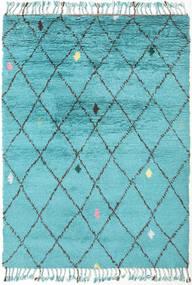 Alta - Turquoise Tæppe 160X230 Ægte Moderne Håndknyttet Lyseblå/Turkis Blå (Uld, Indien)