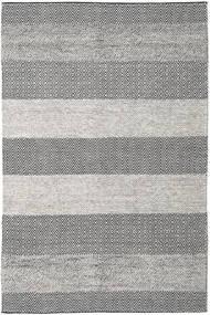 Folke - Brun Tæppe 200X300 Ægte Moderne Håndvævet Lysegrå/Mørkegrå (Uld, Indien)
